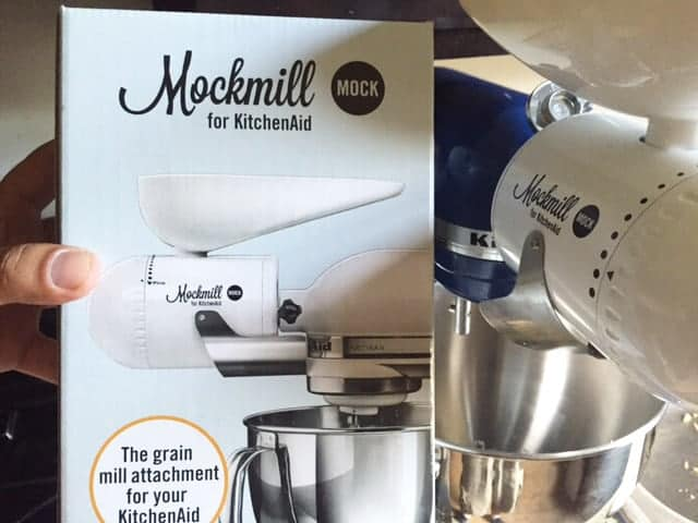 How to make almond flour with mockmill grinder kitchenaid attachment!