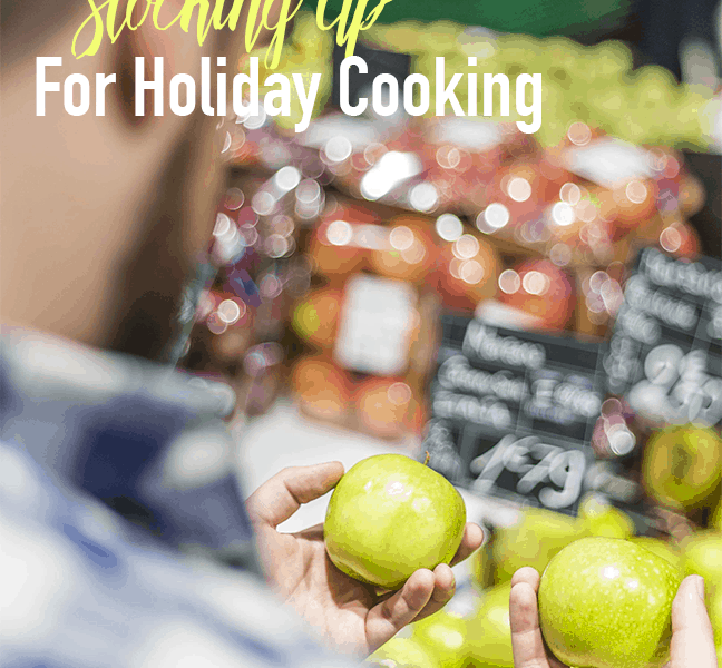 It's that time of the year to start stocking up groceries for your holiday cooking.