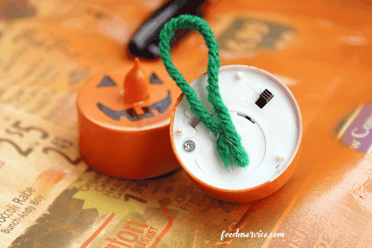 Pumpkin Tea Light Candles Are So Easy To Make