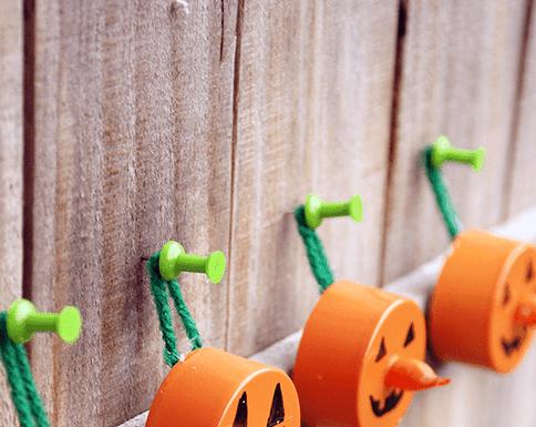DIY Halloween Tea Light Pumpkin Decorations