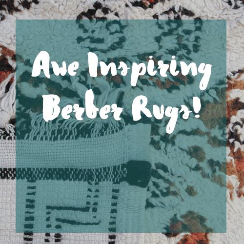 Awe inspiring berber rugs