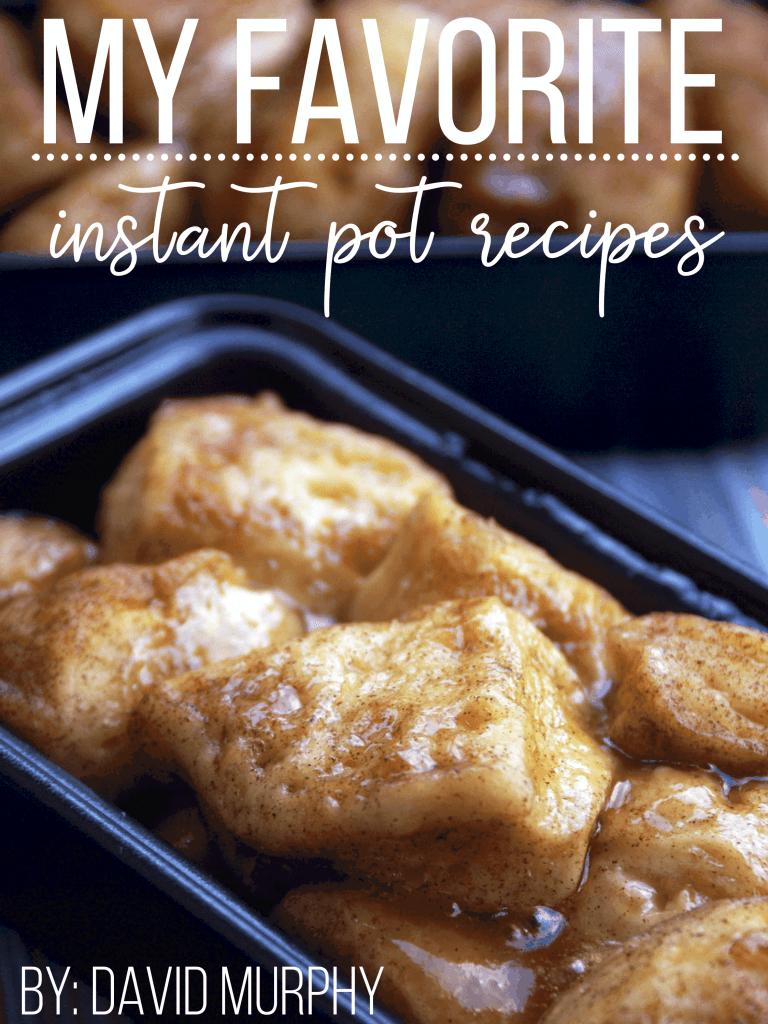Free Instant Pot Recipes cookbook eBook