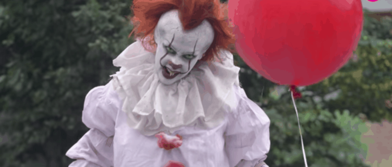 Super Scary Pennywise Costume And DIY Makeup Tutorial Classy Pennywise Costume Pattern