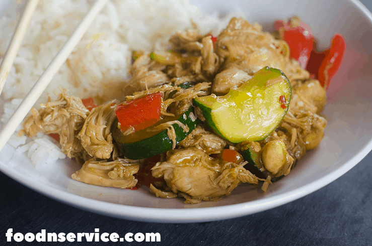 My Instant Pot Kung Pao Chicken is going to be your favorite new recipe to put on your list of chicken pressure cooker recipes! I love that it only has 4 FreeStyle Weight Watchers points! #FreeStyle #WeightWatchersRecipes #InstantPotRecipes #InstantPot #WWrecipes