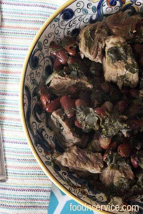 instant pot ghormeh sabzi traditional Iranian dish