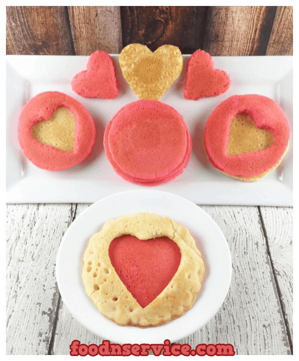 Valentines Pancake Recipe