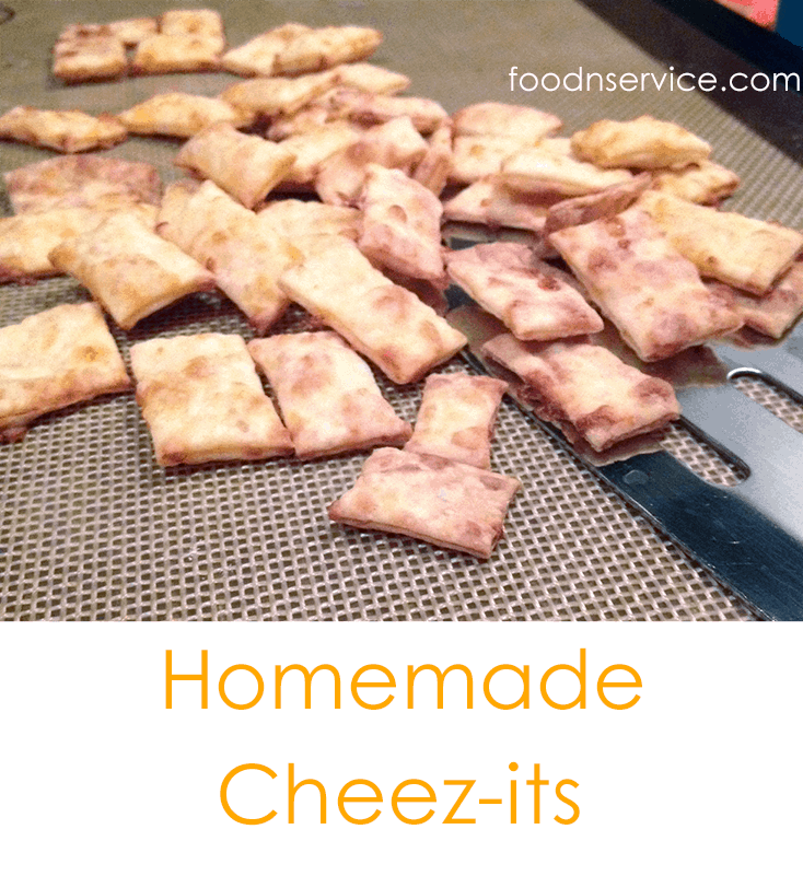 Homemade DIY Cheez-its Recipe