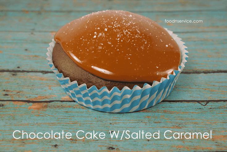 Chocolate Cake With Salted Caramel Sauce