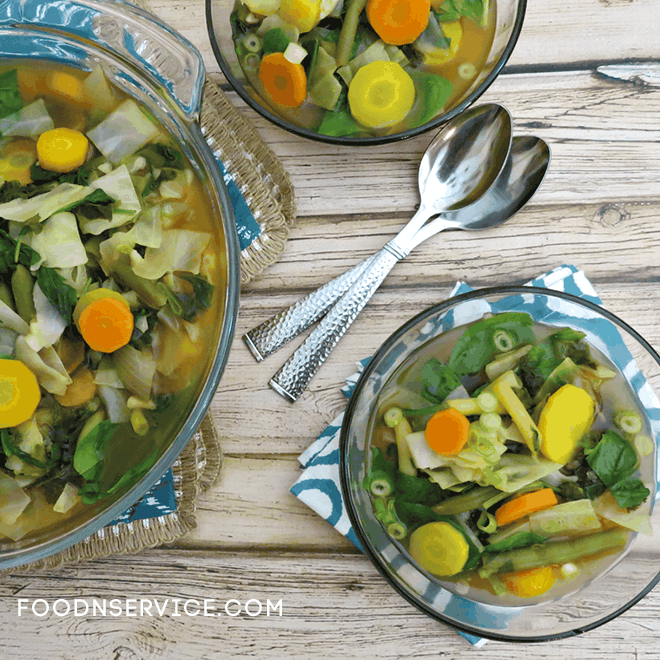 Detox Vegetable Cleanse Soup