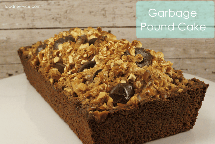 Garbage Pound Cake Recipe