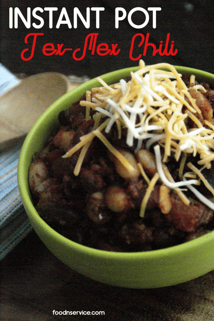 Instant Pot Tex Mex Chili