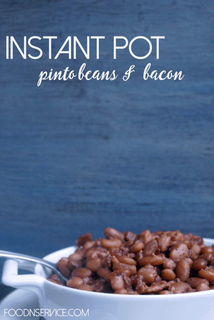 Instant Pot Pinto Beans and Bacon