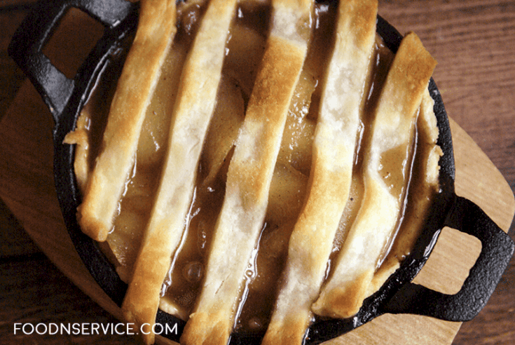 Cast Iron Skillet Pear Tart Recipe