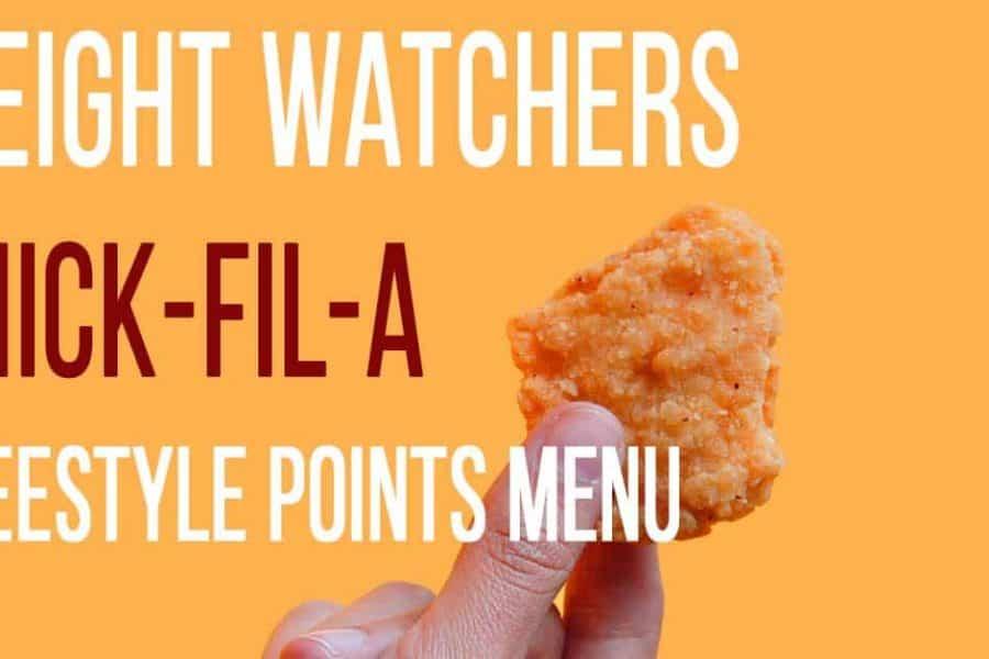 TGI Fridays Weight Watchers Menu Items