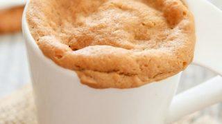 4 Ingredient Cookie Butter Mug Cake