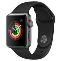 Apple Watch Series 3 (GPS, 38mm) - Space Gray Aluminium