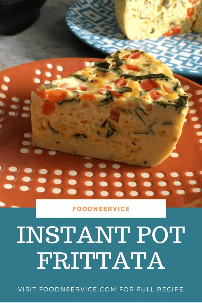 Instant Pot Frittata Egg Bake Weight Watchers Recipe