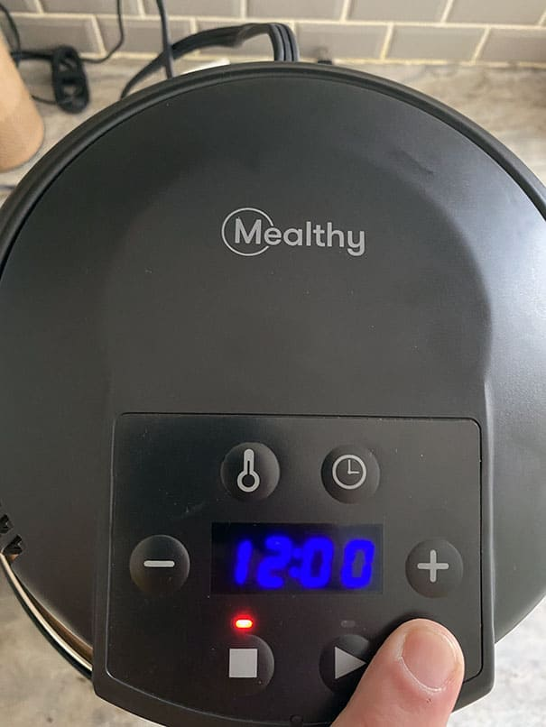 This mealthy crisplid review shows you how to change temperature and time