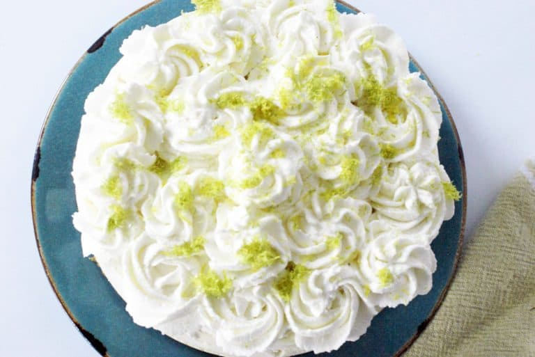 Instant Pot Lime Cheesecake