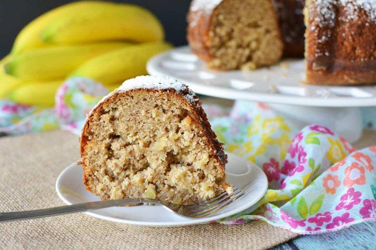 Pineapple Banana Cake