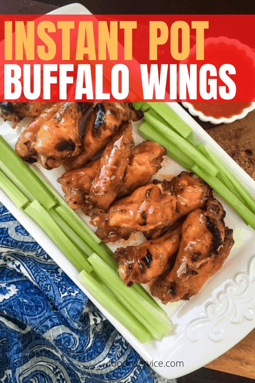 Instant Pot Buffalo Wings