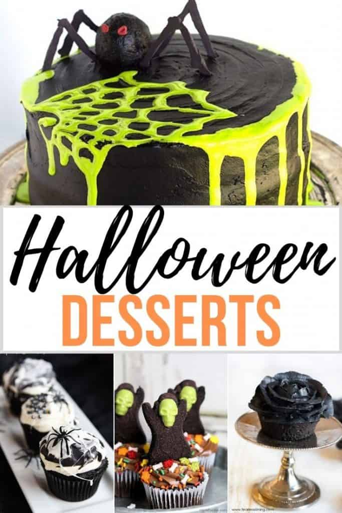 Easy Halloween Desserts to make
