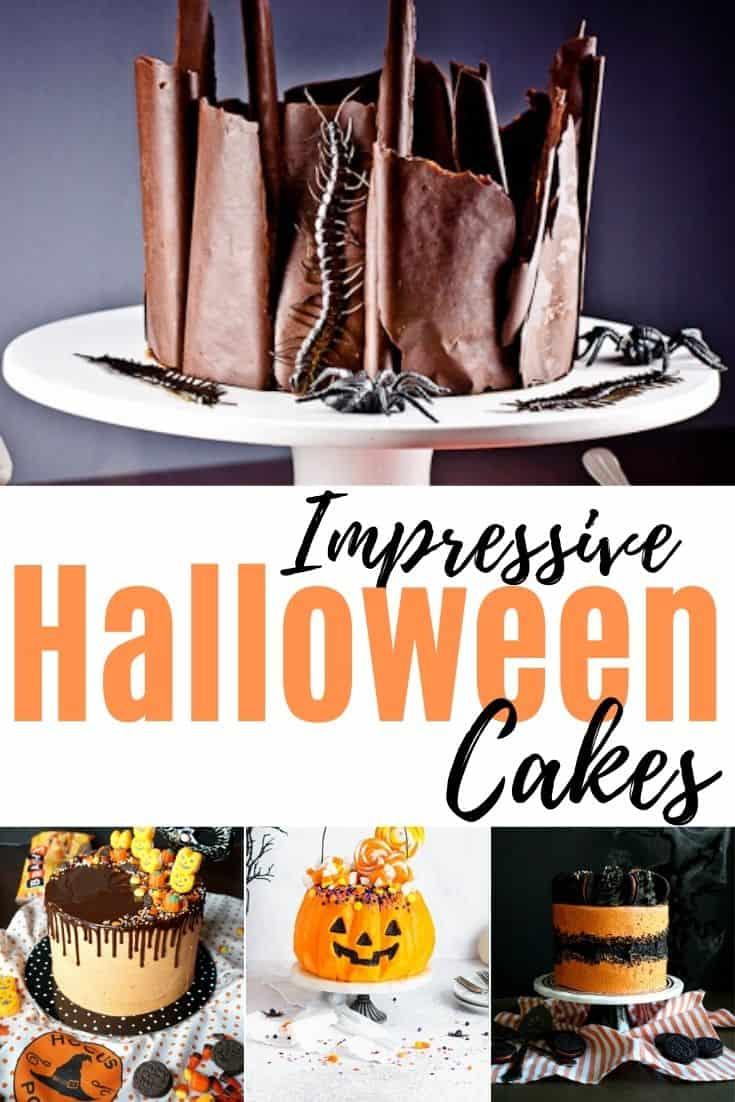 Impressive Ideas for Halloween Cakes