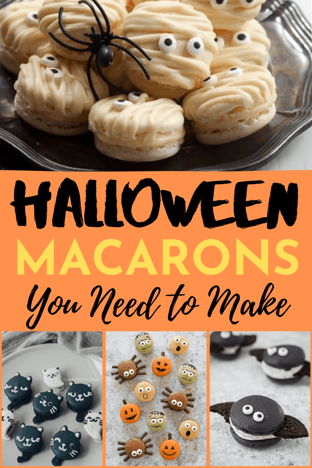 Halloween Macarons That Will Make You Scream