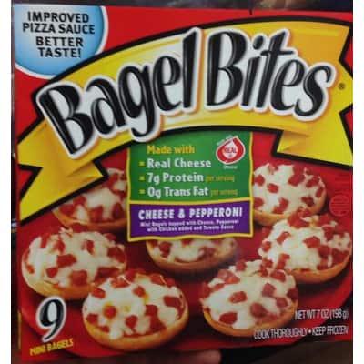 80s food stranger things food bagel bites