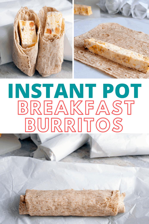The Best Instant Pot Breakfast Burritos