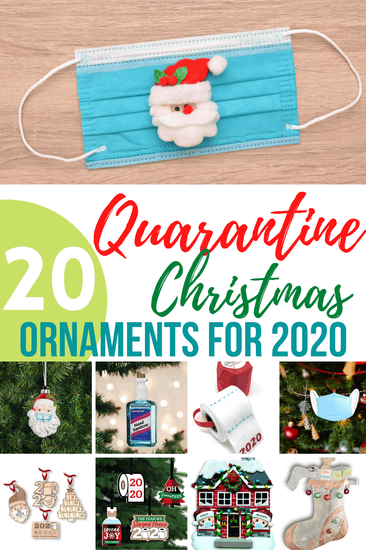 Quarantine Christmas Ornaments To Remember 2020