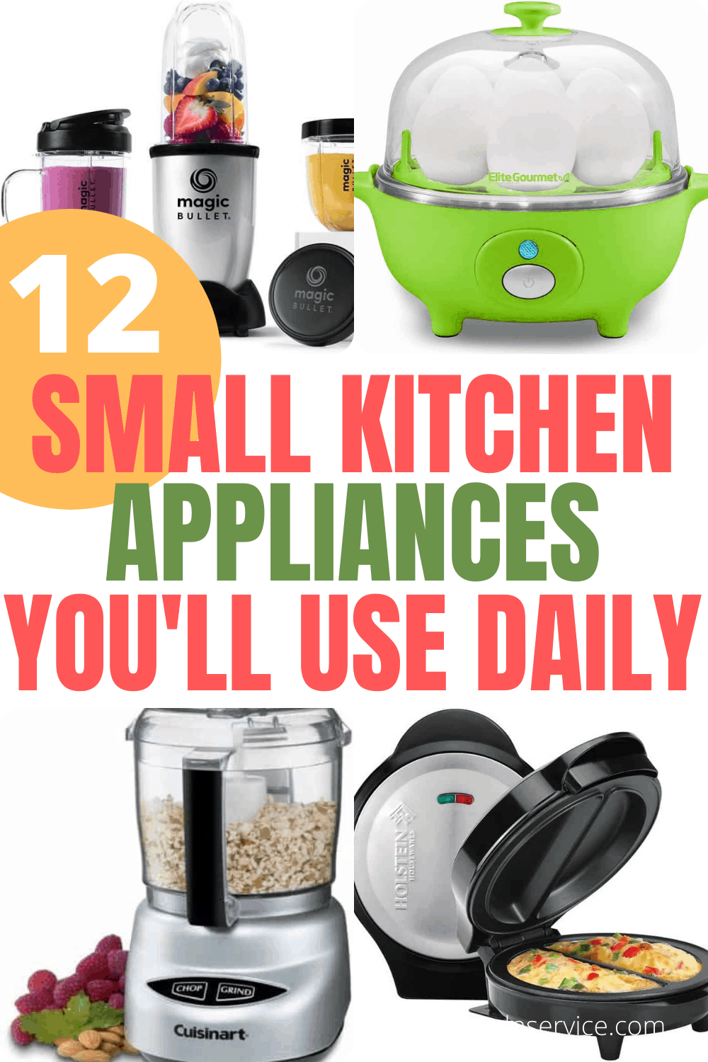 12 Small Kitchen Appliances You\'ll Actually Use