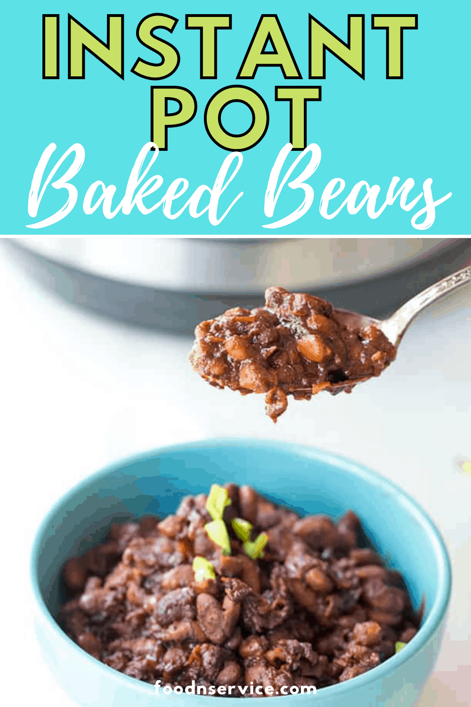 Instant Pot Baked Beans - Easy No Soak!