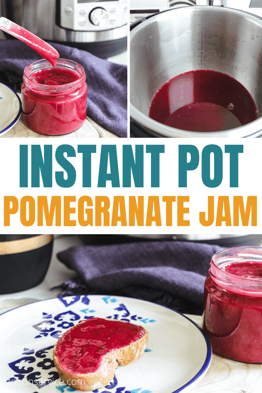 Instant Pot Pomegranate Jam