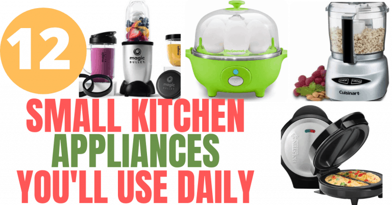 12 Small Kitchen Appliances You'll Actually Use