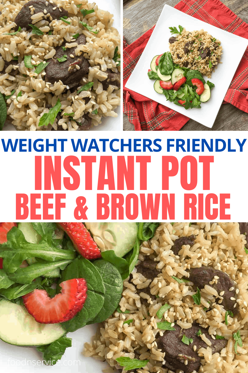 Instant Pot Beef and Rice