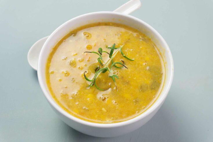 Instant Pot Corn Soup