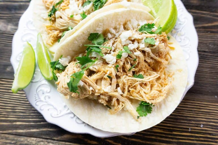 Instant Pot Key Lime Chicken Tacos