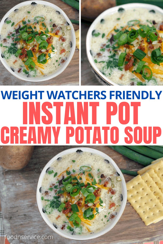 Low Point Instant Pot Potato Soup