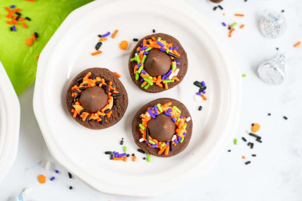 Chocolate shortbread cookies witch hat cookies recipes