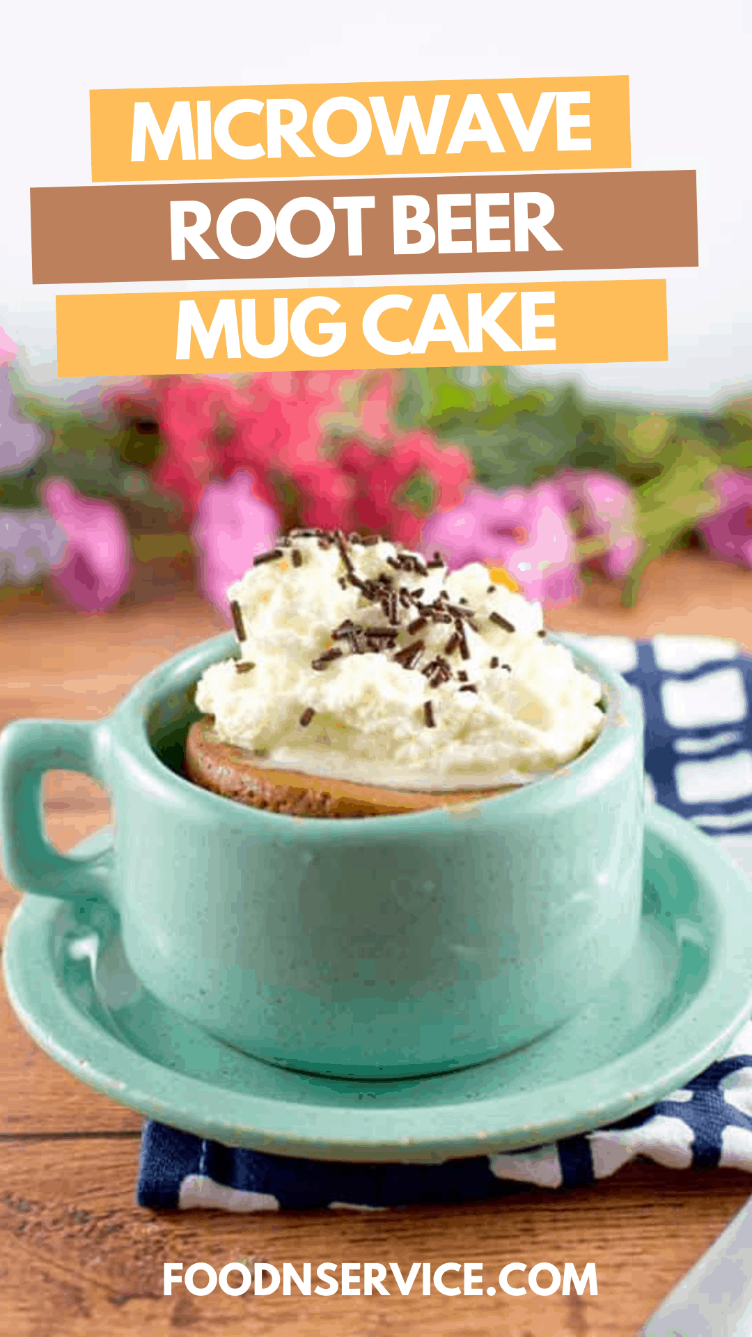 Root Beer Mug Cake